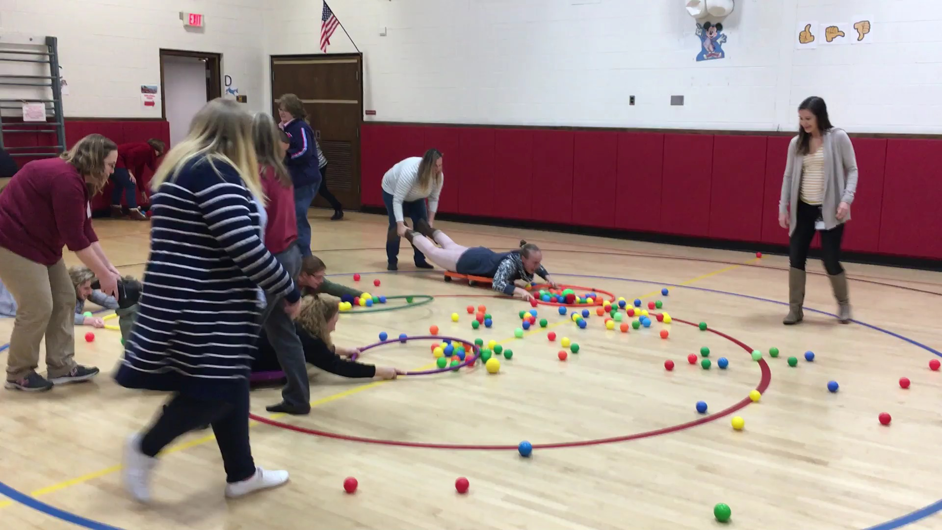 LIM Faculty Mtg. Hungry Hungry Hippos Game